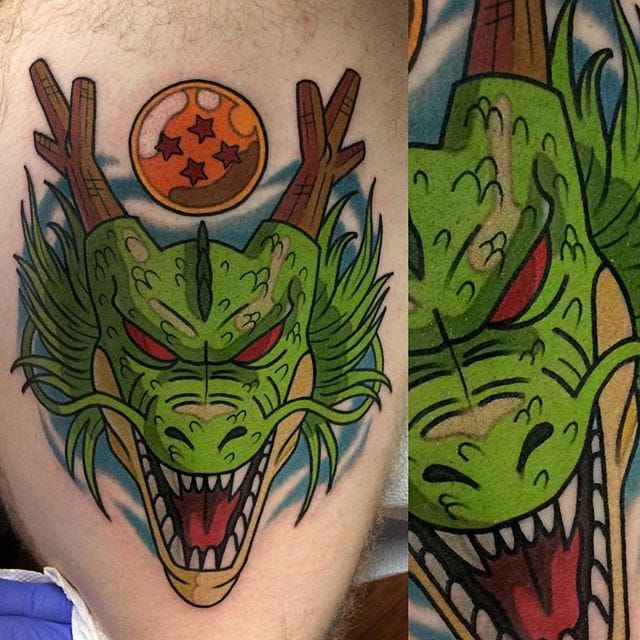 21 Full Force Dragon Ball Tattoos Dragon Ball Tattoo Z Tattoo Dbz Tattoo