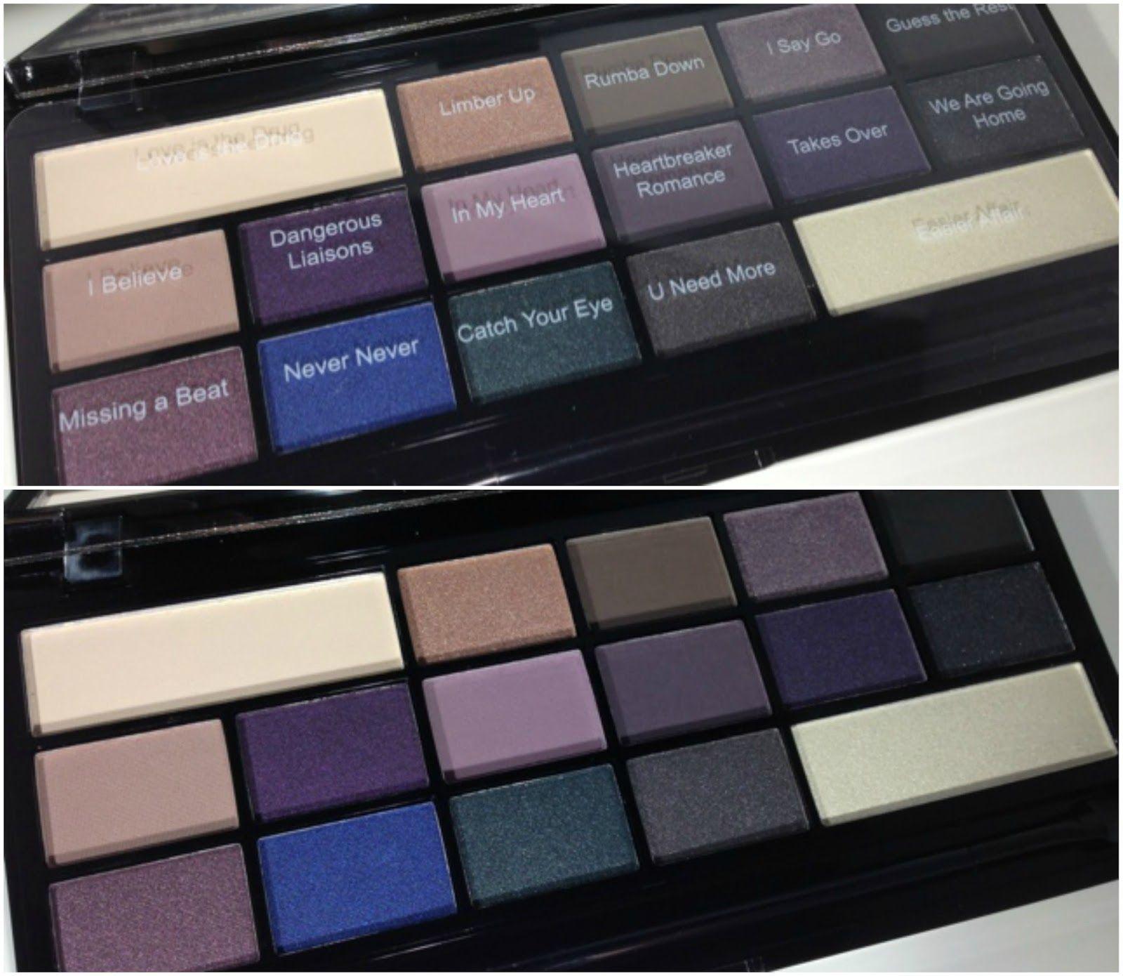 Makeup Revolution 'I Heart Passion' Eyeshadow Palette