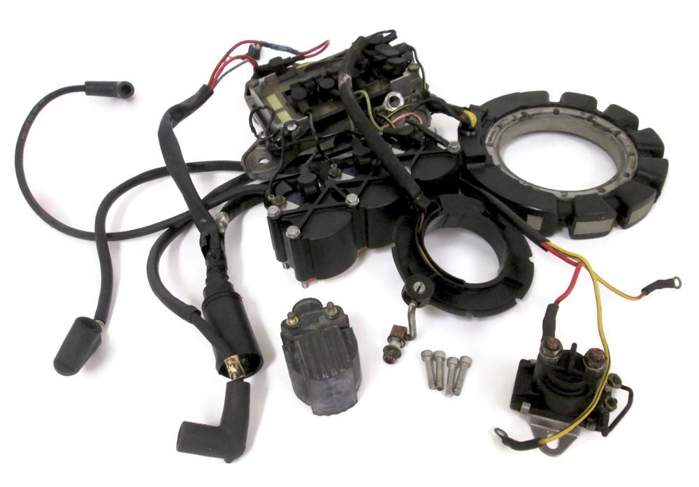 Mercury Outboard Ignition Electrcials Assembly 57004a7 96455a8 7778a9 Mercury Outboard Ignition Electricalassemb Mercury Outboard Outboard Aluminum Boat