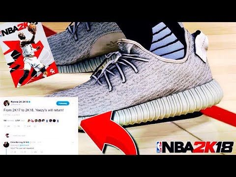 Image Result For Nba 2k18 Shoes Yeezy