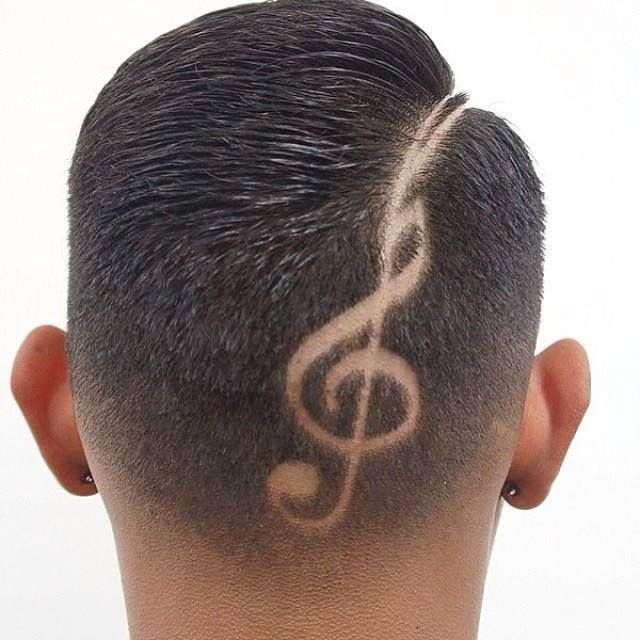 Coolest Hair Designs for Men