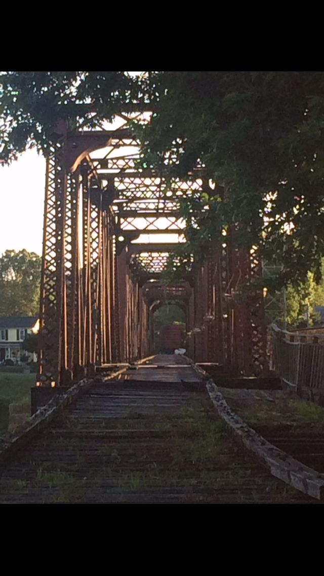 Harmer Railroad Bridge, Marietta, Ohio | Abandoned train