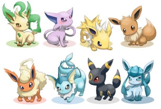 eevee evolutions pokémon pokémon pokemon eevee cute pokemon