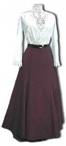 Gibson Girl Era Clothing | Old fashion dresses, Gibson