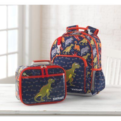 e5193253bf32 KidKraft Dinosaur Backpack and Lunchbox Set - 40012 | Products ...
