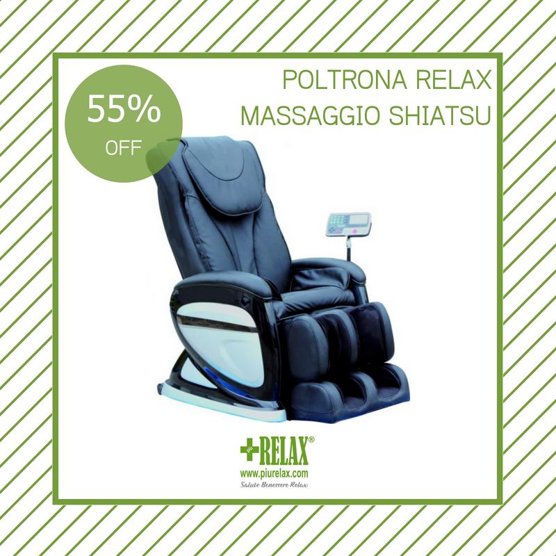 Copri Poltrone Massaggianti.Poltrona Relax Con Sei Tipi Di Massaggio Shiatsu