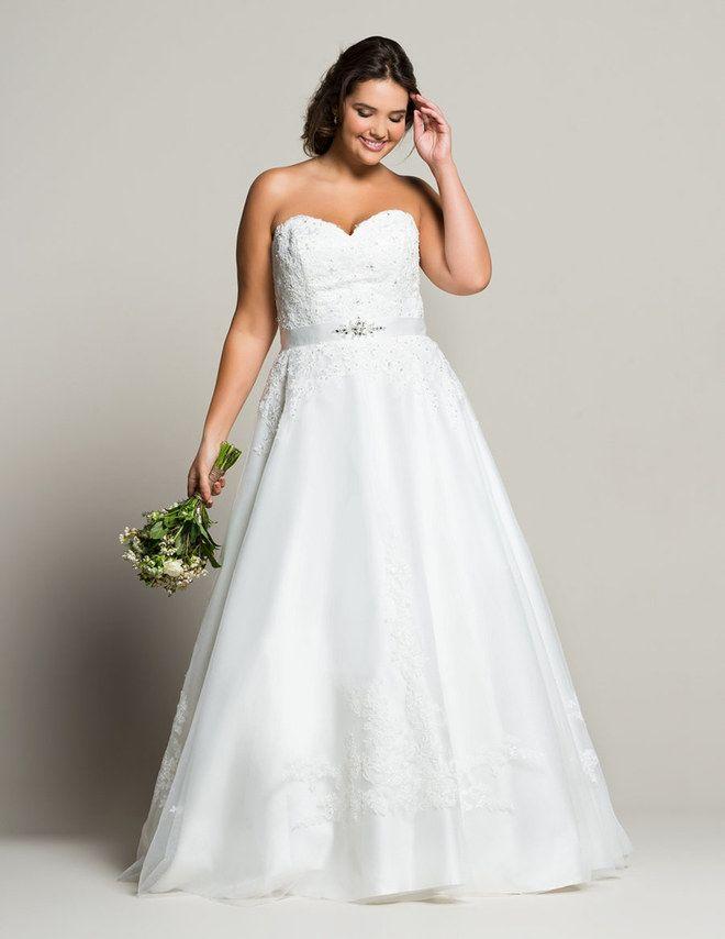 Welches Hochzeitskleid für Mollige? So findest du deine Traumrobe ...