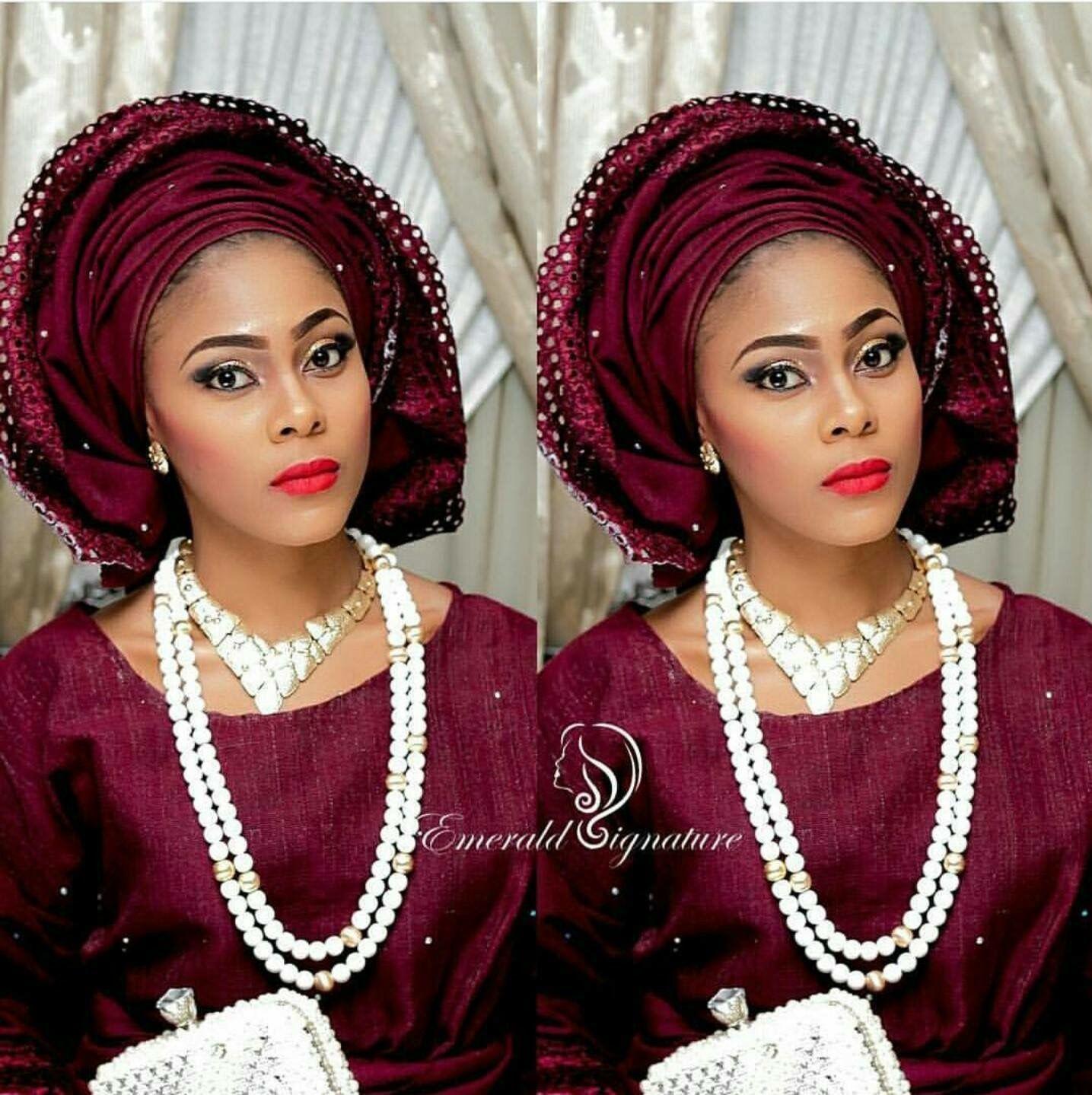 Traditional nigerian wedding dresses  Aso Ebi Bimpy  Fashion  Pinterest  African fashion ankara