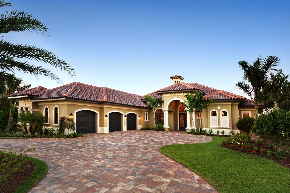 custom builder home and driveway Google Search Luxury