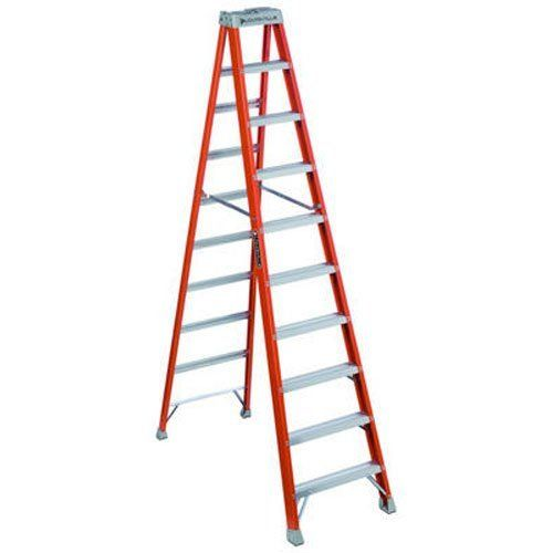 Louisville Ladder Fs1510 300 Pound Duty Rating Fiberglass Step Ladder 10 Feet The Product Is 10 Fbg 1a Stepladder Elegant De Step Ladders Ladder Fiberglass