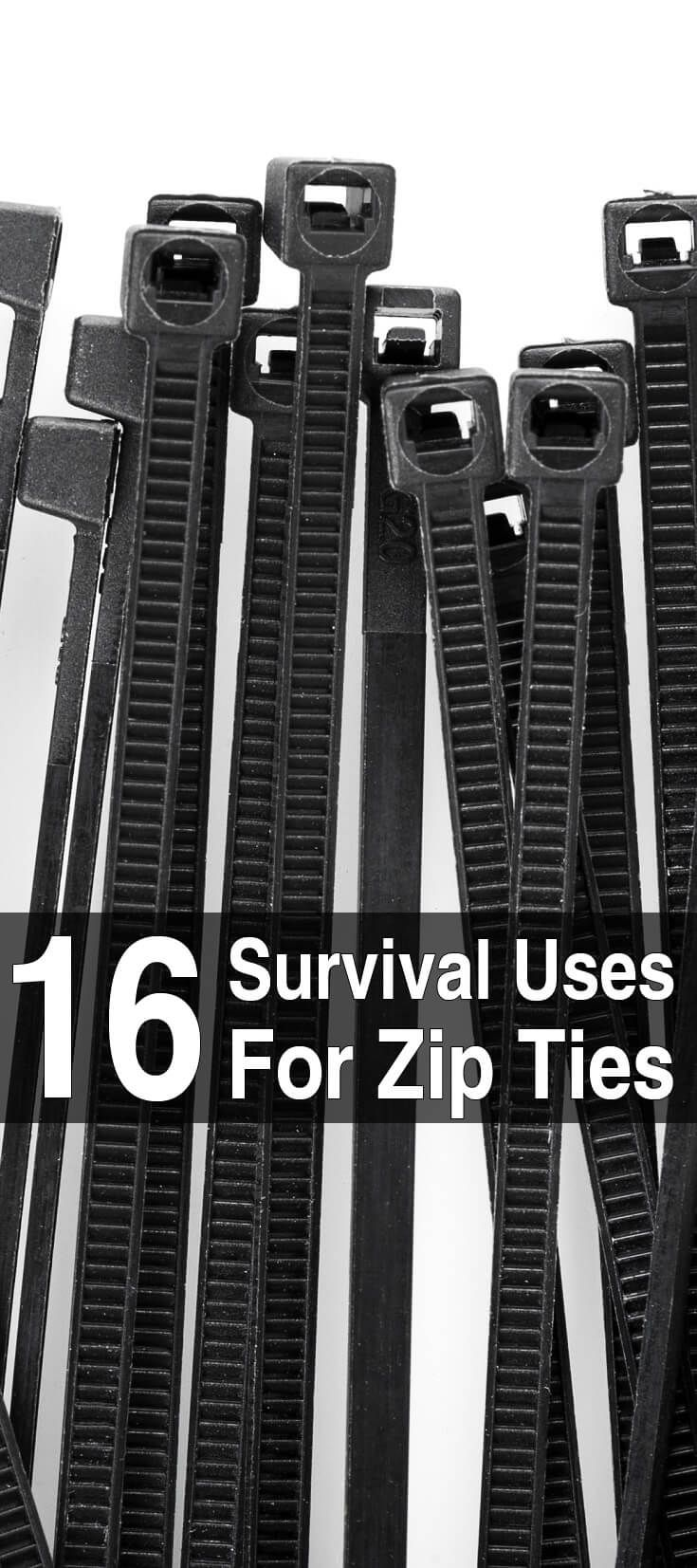 16 Survival Uses For Zip Ties - Modellen
