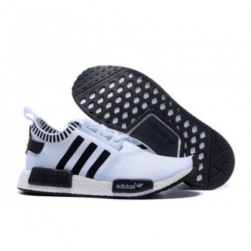 Buy 2016 Adidas Originals NMD Runner Primeknit Homme Running Chaussures  Blanc Noir (Chaussures Adidas NMD) from Reliable 2016 Adidas Originals NMD  Runner ...