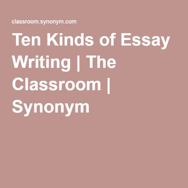 Ten kinds of essay writing the classroom synonym job related ten kinds of essay writing the classroom synonym platinumwayz
