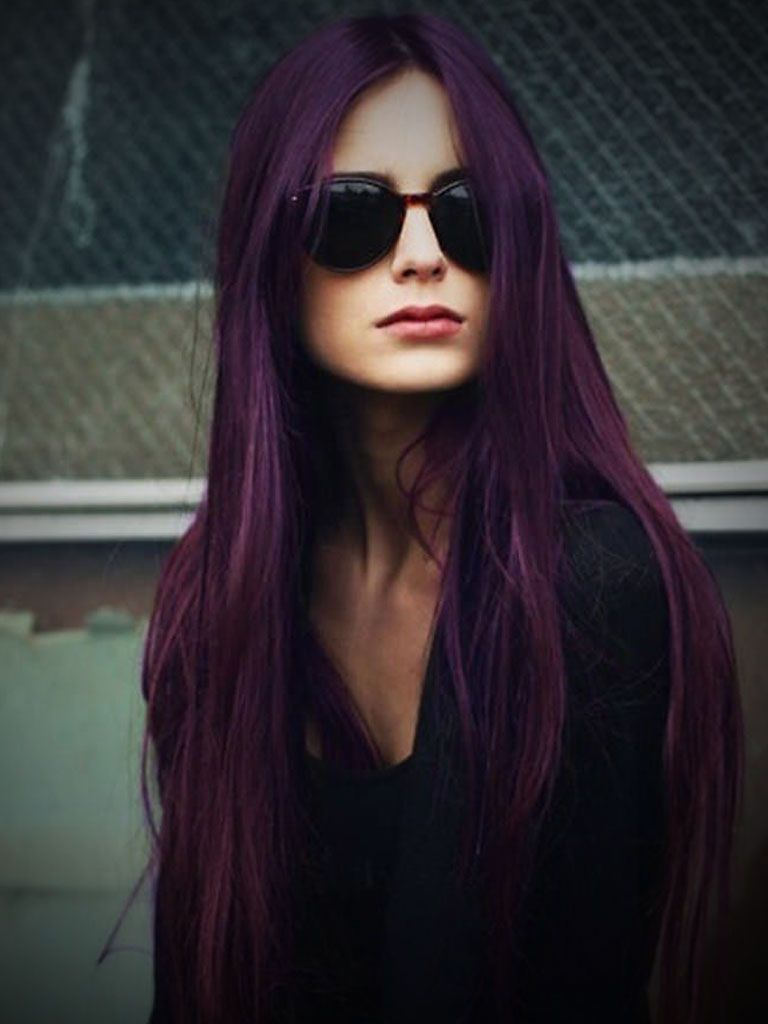 dark purple to light purple ombre hair hair dyed hair. Black Bedroom Furniture Sets. Home Design Ideas