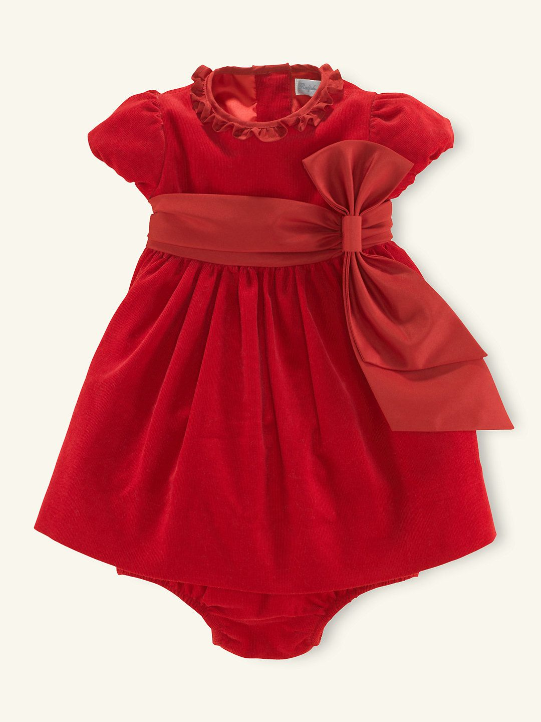 Corduroy Party Dress - Dresses & Rompers Layette Girl (Newborn-9M) -  RalphLauren