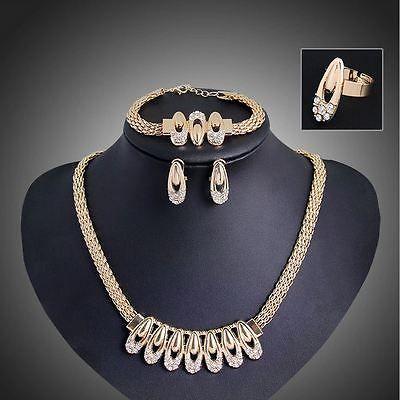 Africana-chapado-en-oro-joyeria-conjuntos-Nueva-Moda-Mujer-Boda-de-aleacion-de-conjunto-de-collar