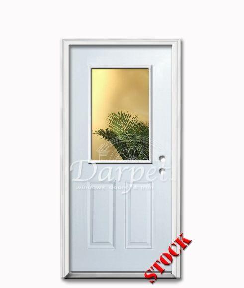 1 lite half clear glass steel exterior door 68 darpet interior doors for