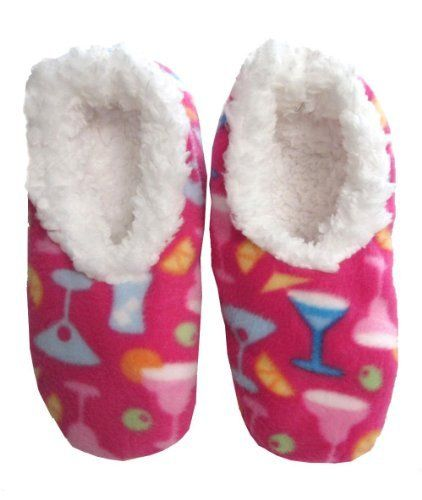 96720ab9da52 Snoozies Cocktail Fleece Lined Footies (Large) Snoozies.  12.95 ...