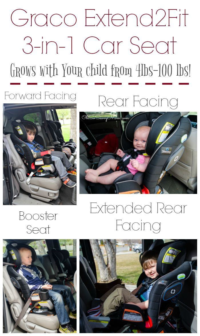 Graco Extend2fit 3 In 1 Convertible Car Seat Grows With Your Child It Fits Babies And Children From 4 Lbs To 100 This Is An Excellent Extended Rear