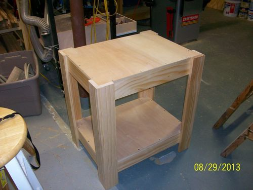 Trying New Woodworking Skills 2 Planer Stand By