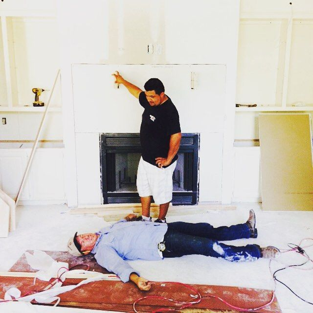 The moment I told chip it was only Thursday. #FixerUpper #SeasonThreeIsComing
