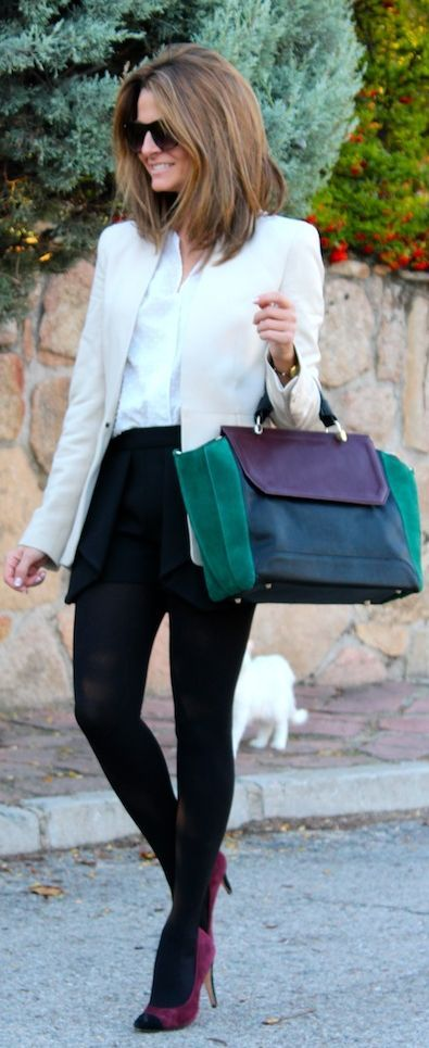 #Burgundy And #Green Touch by Oh my Looks