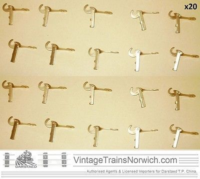 Ace #trains brass #drop-link couplings x20 fits #hornby 0 gauge bing lowke o e m,  View more on the LINK: 	http://www.zeppy.io/product/gb/2/262540508873/