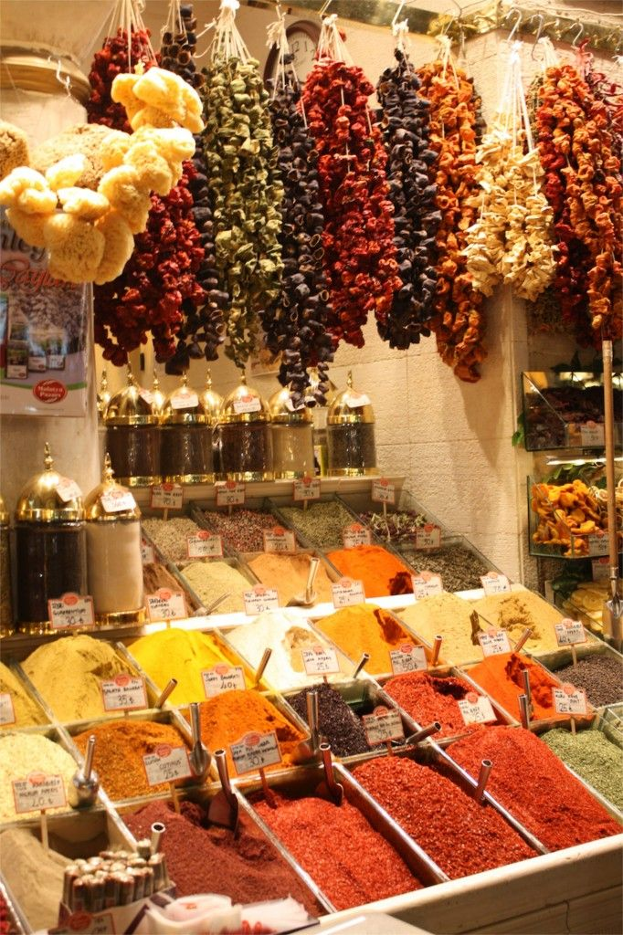 Istanbul Spice Markets With Images Spices Istanbul Spice Shop