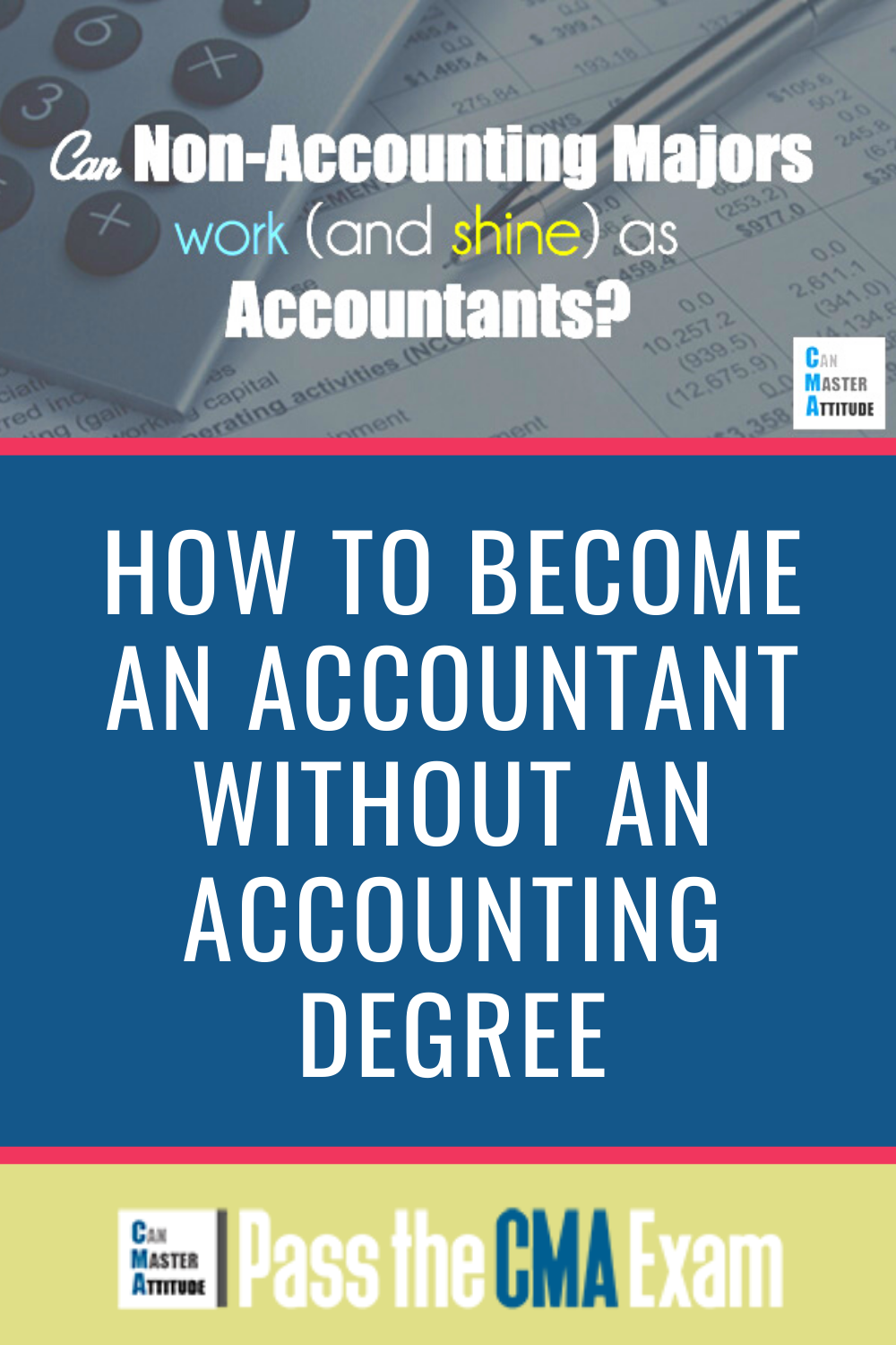 How To Become An Accountant Without An Accounting Degree Accounting Degree Accounting Accounting Career