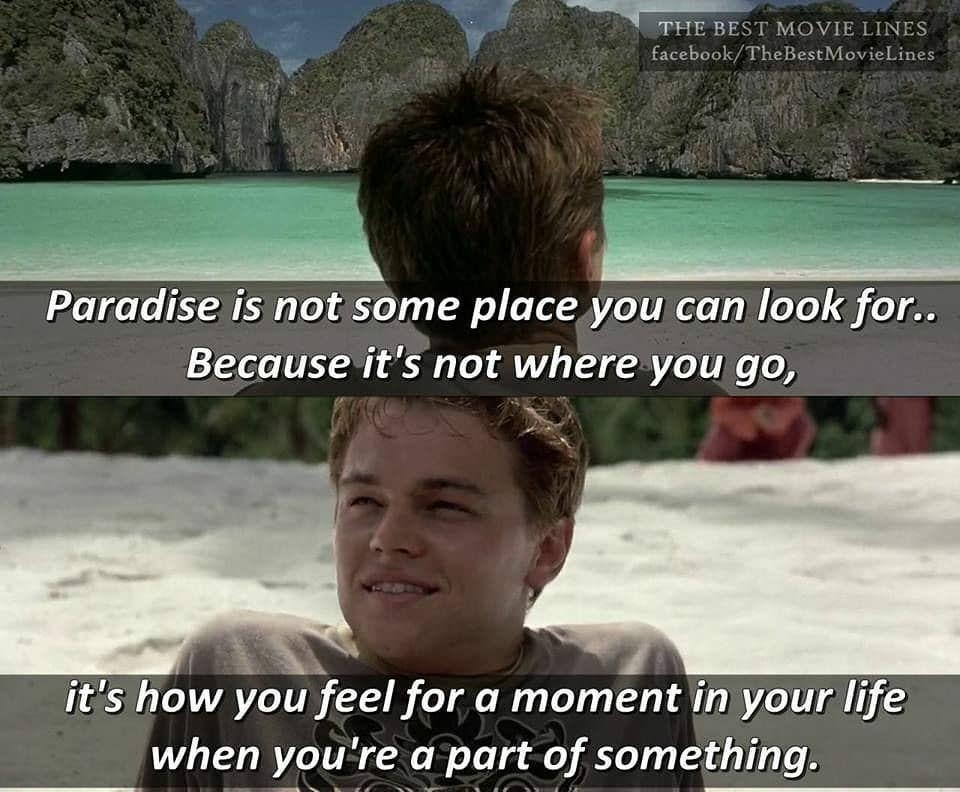 Happy Birthday Leonardo Dicaprio Movi Best Movie Lines Beaches Film Movie Lines