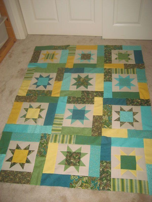 Lucky Stars | Quilting Board | Pinterest | Lucky star, Star and ... : lucky star quilt pattern - Adamdwight.com