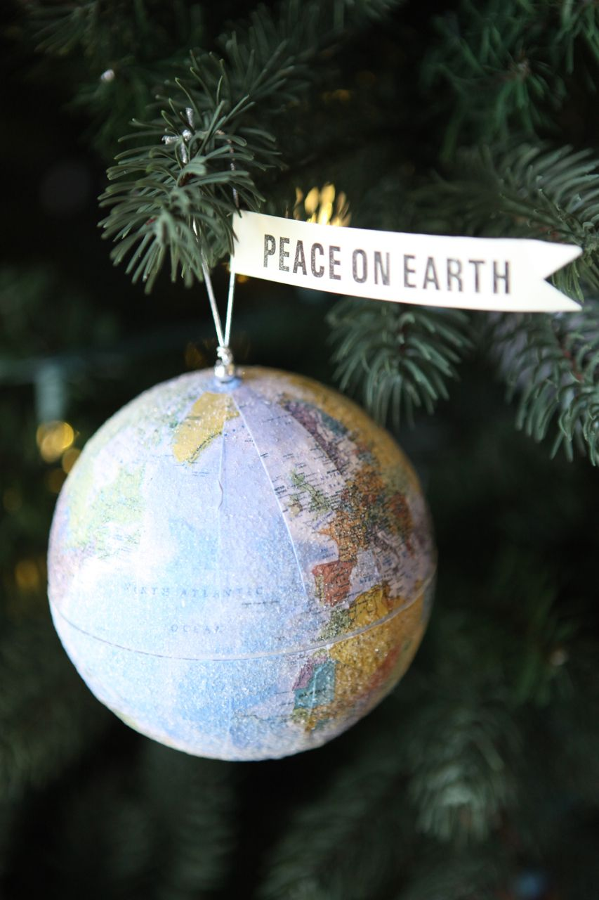 Peace On Earth Ornament Idea Merry Little Christmas Christmas Love Christmas Joy