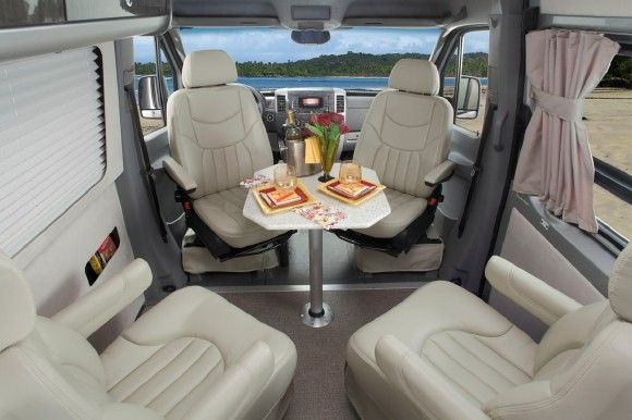 2011 airstream 3500 interstate rides on a mercedes benz for Mercedes benz sprinter 3500 diesel class b rv motorhome