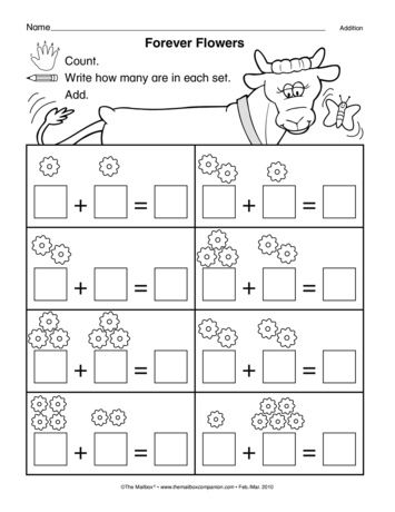Forever Flowers, Lesson Plans - The Mailbox | matematyka | Pinterest ...