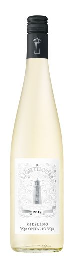 Look for our new label with our Lighthouse Riesling.  2013 LIGHTHOUSE RIESLING VQA Ontario   Alcohol : 12.5%  Sugar Code: (1) Grape(s): 100% Riesling Residual Sugar: 8.6 g/L  Description: Dry LIGHT & CRISP WHITE WINE Pair with: - Appetizers- Seafood - Cheese- White meats  - On its own.  Available in 750ml bottles Product # 145417