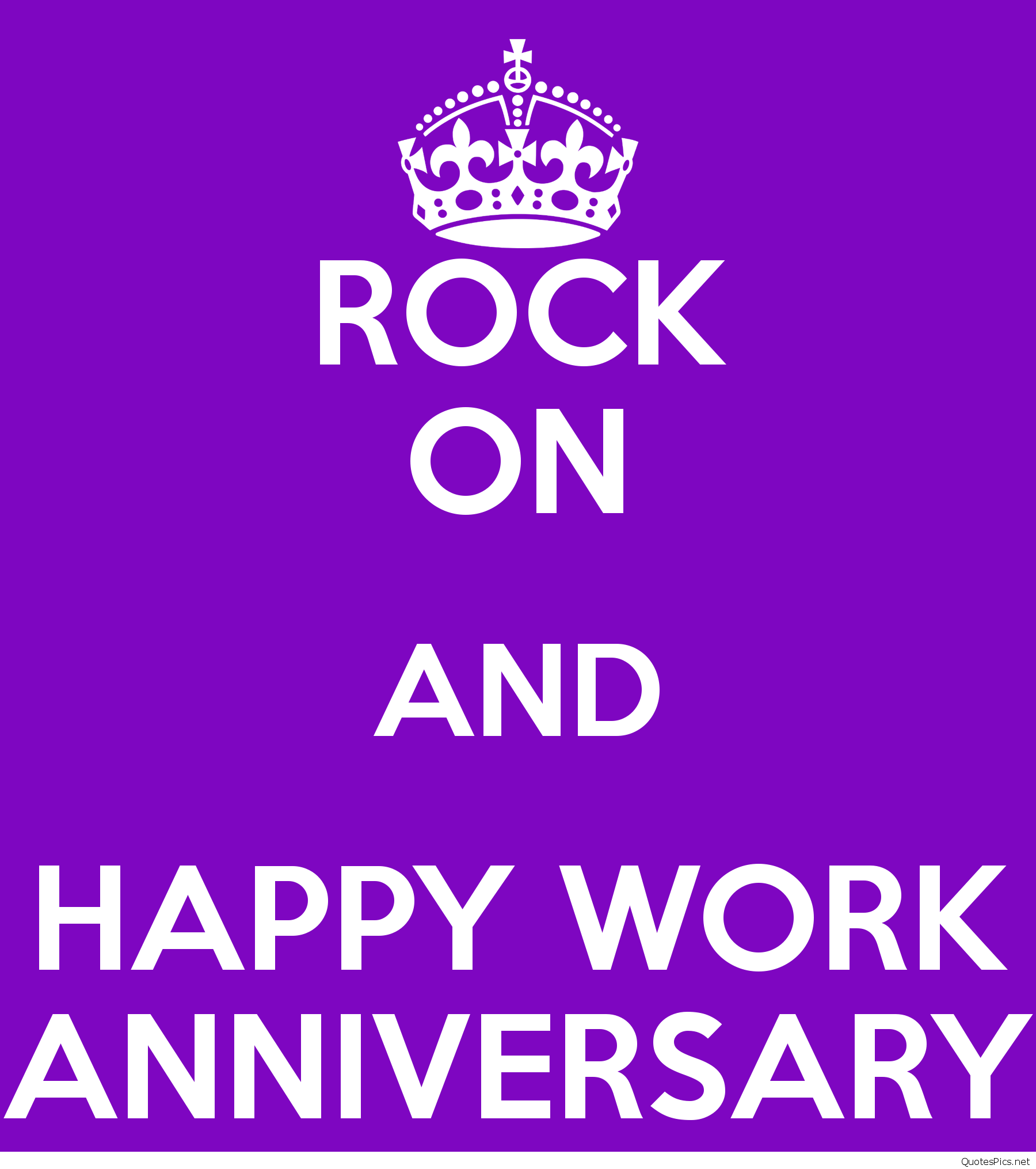 Rock On And Happy Work Anniversary Rockonandhappyworkanniversary Work Anniversary Quotes Work Anniversary Anniversary Quotes Funny