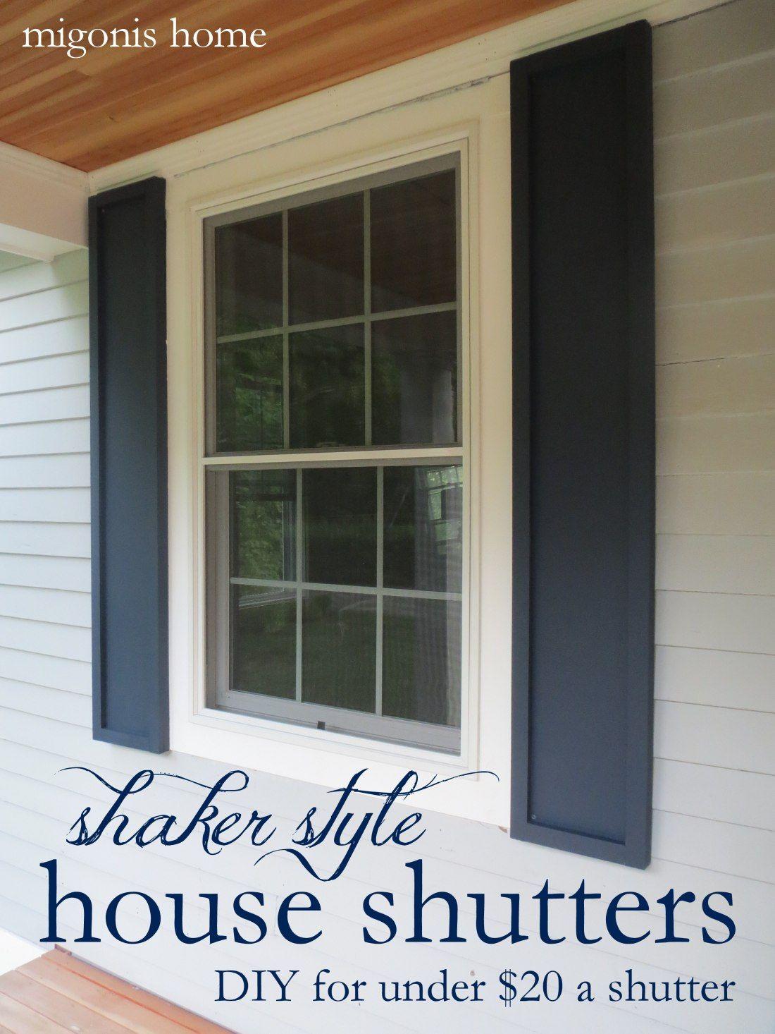 Cheap diy shutters house shutters shutters exterior
