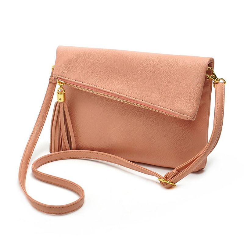 Pink Cute Crossbody Bags for Female Small Leather Designer ...