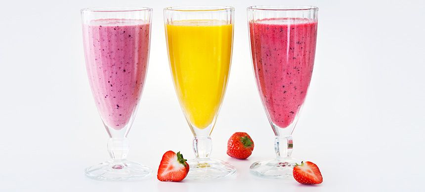Kaura-mansikka smoothie - Fazer