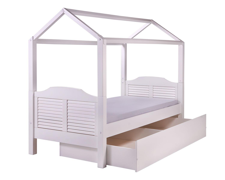 A cama casinha ou cama com telhadinho g linda para o for Cama infantil