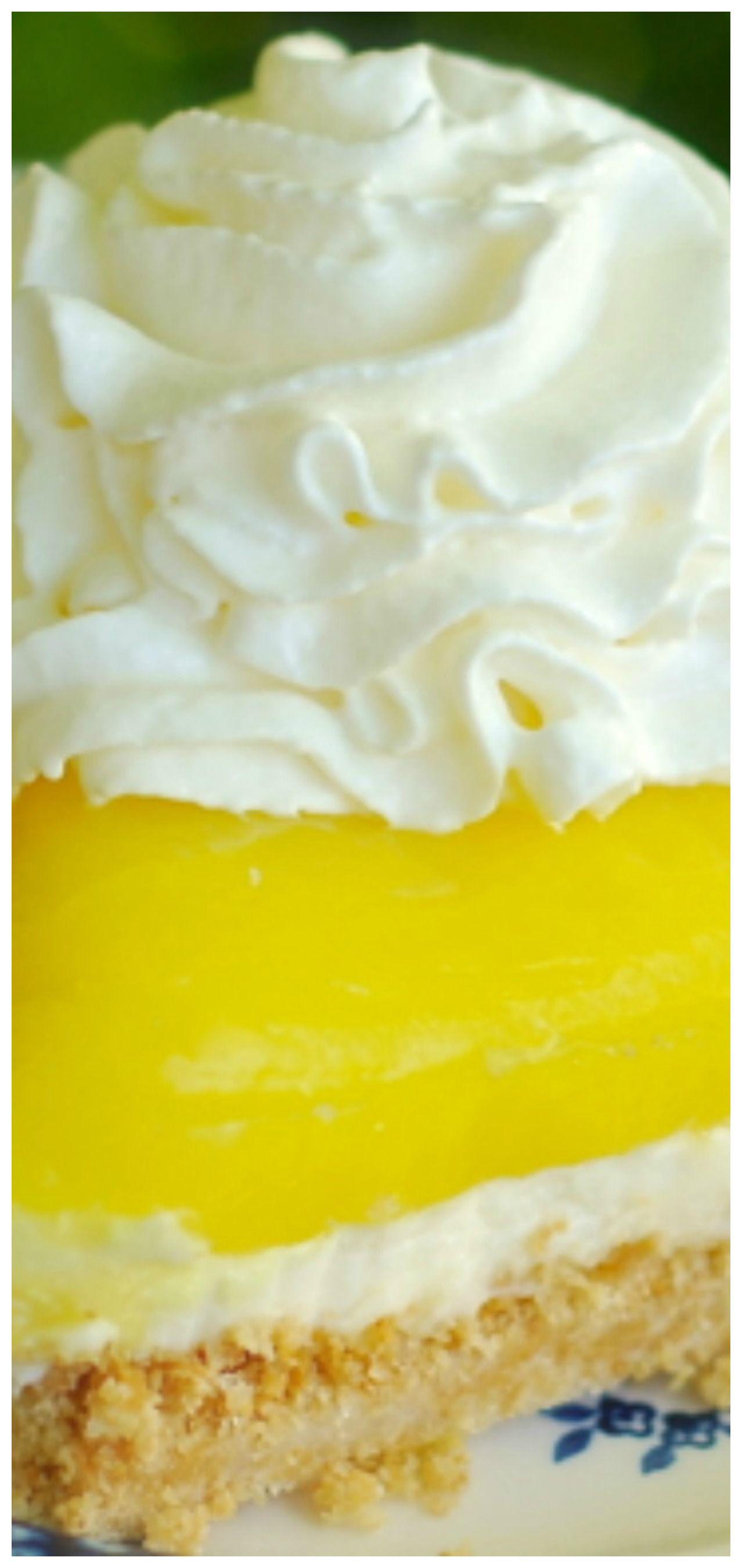 Photo of No-Bake Lemon Lush Cheesecake Pie