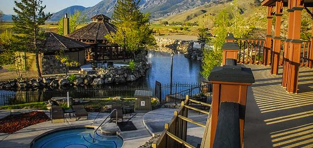 Being At A Spa With This View Is Priceless 1862 David Walley S Hot Springs Resort