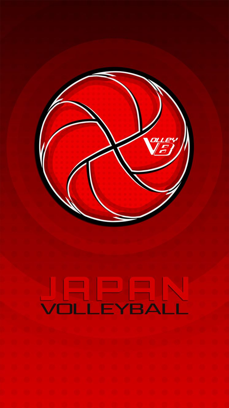 Japan 02 Volleyball Mobile Wallpaper Mobile Wallpaper Volleyball Pictures Japan