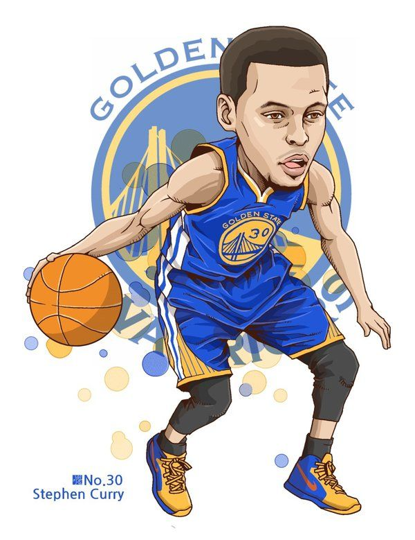 bcad08b05 Stephen Curry by fabjoon | Basketball ❤ | Curry basketball, Nba ...