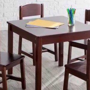 Kidkraft Farmhouse Table And 4 Chair Set Espresso | //metroless.info | Pinterest | Farmhouse table and Espresso & Kidkraft Farmhouse Table And 4 Chair Set Espresso | http://metroless ...