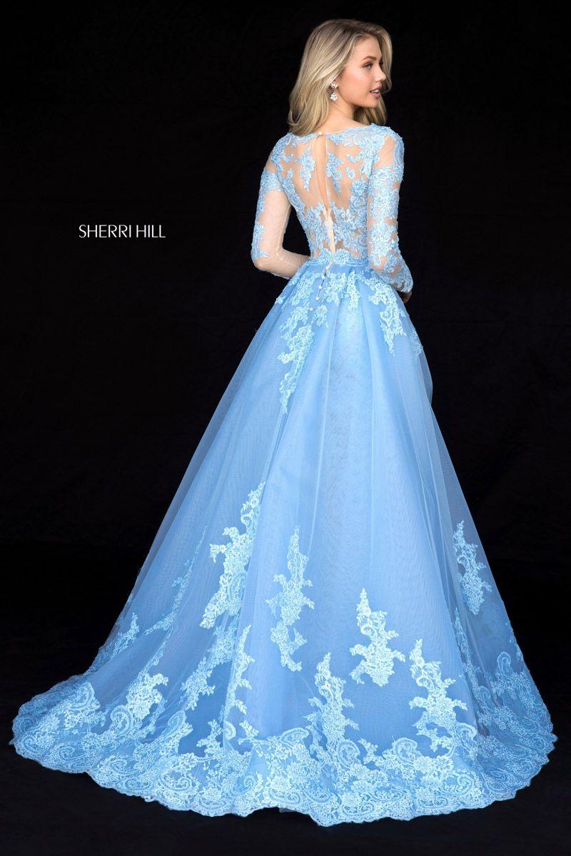 Sherri Hill 2018 Prom Dresses Blue