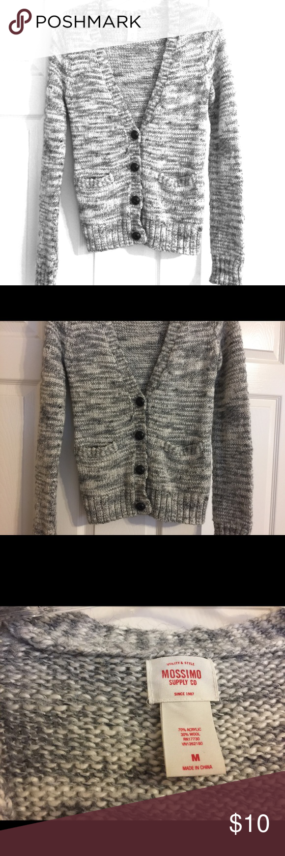 Women's Mossimo Supply co sweater In great condition. Size m. 70% acrylic 30% wool Mossimo Supply Co Sweaters Cardigans