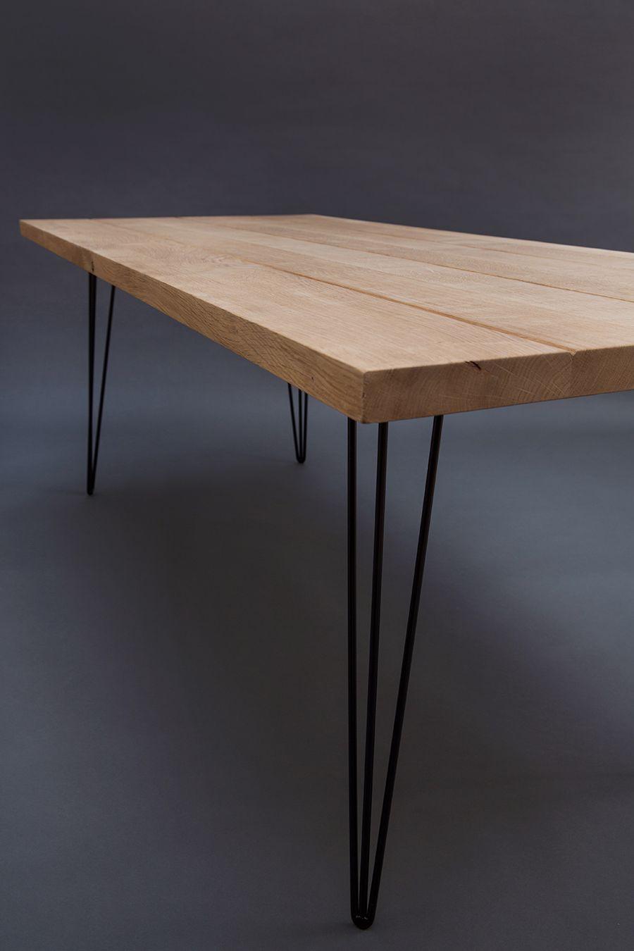 Magnifique Table En Chene Massif Avec Un Effet Vieille Planche De Ferme Chacune De Ces Planches Sont Tr Table En Chene Table Chene Massif Salle A Manger Bois