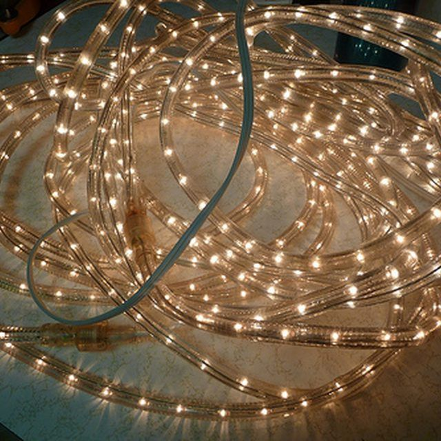 How to fix a rope light rope lighting lights and moldings how to fix a rope light aloadofball Image collections