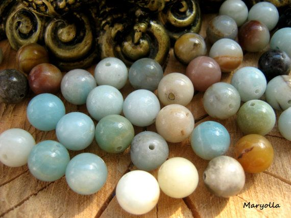 Amazonite Beads 8mm 10mm Or 12mm Mala Beads Large Or Dainty Gemstone Beads Healing Crystals And Stones Bulk Gemstone Diy Beads Wholesale With Images Amazonite Beads